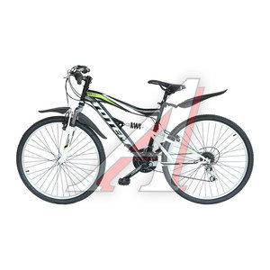 """Велосипед 26"""" 21-ск. двухподвесный черный ATOM TOTEM T15B112 A, T15B112"""