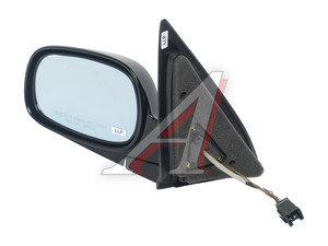 Зеркало боковое SSANGYONG Rexton (03-) левое (черное) (автоскладывание,обогрев) OE 7893008220LAK