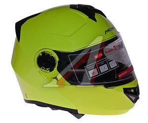 Шлем мото (модуляр) MICHIRU зеленый MF 120 XS, 4650066004243