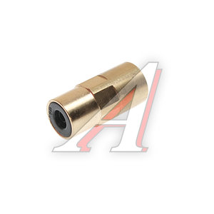 Соединитель трубки ПВХ,полиамид d=6мм (внутренняя резьба) М10х1 прямой латунь CAMOZZI 9463 6-M10X1