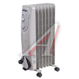 Обогреватель радиатор масляный 1.50кВт (15кв.м) 7 секций белый ENGY 38633, EN-1307