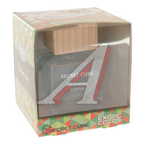 Ароматизатор на панель жидкостной (экзотический кокос) 50мл Secret Cube TASOTTI Secret Cube/exotic coconut, TASOTTI,