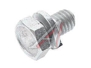 Болт М6х1.0х10 ВАЗ-2108-2115,2123 радиатора с пружинной шайбой 00001-0038240, 00001-0038240-11