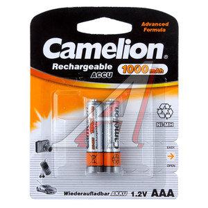 Батарейка AAA 1.2V аккумулятор 1000mAh (по 1шт.) CAMELION C-100AAAHCбл,