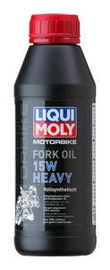Масло для амортизаторов и мотовилок MOTORRAD FORK Oil Heavy 0.5л LIQUI MOLY LM SAE15W 7558, 84229,
