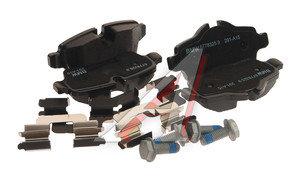Колодки тормозные MINI Cooper (06-),Clubman задние (4шт.) OE 34216778327, GDB1766
