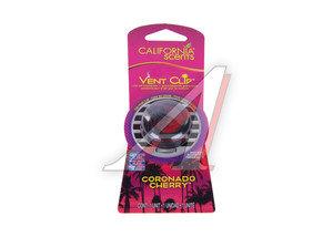 Ароматизатор на дефлектор (вишня коронадо) Vent Clip масло твердое 40г CALIFORNIA SCENTS 091400027919