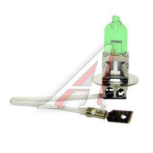 Лампа H3 12Vх100W RALLY GREEN 2шт. MEGAPOWER M-99213RGR-2