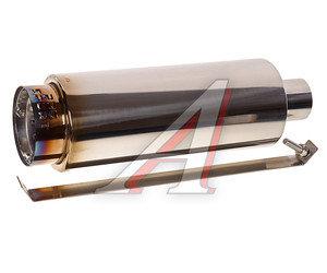 Глушитель BULLET (с приглушением звука) универсальный D=58мм PRO SPORT RS-01652,