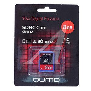 Карта памяти 8GB QUMO 8GB SD SDHC 10 QUMO 8GB SD SDHC 10, 8GB SD SDHC 10
