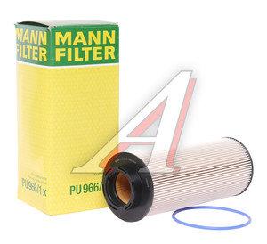 Фильтр топливный DAF XF105 MANN PU966/1X, KX262D
