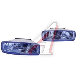 Фара дальнего света FL-5040 Blue (130х40мм) 2шт. FAR LIGHT FL-5040B