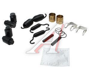 Ремкомплект колодки тормозной ROR полуприцепа TRUCKTECHNIC ASK1126, AXL126
