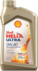 Масло моторное HELIX ULTRA синт.1л SHELL SHELL SAE0W40, 75739