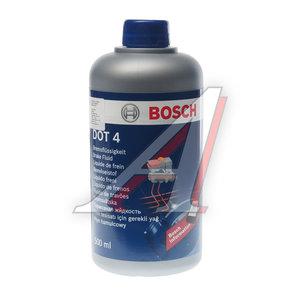 Жидкость тормозная DOT-4 0.5л BOSCH BOSCH DOT-4, 1987479106
