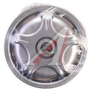 Колпак колеса R-13 декоративный серый комплект 4шт. КАРРЕРА КАРРЕРА R-13