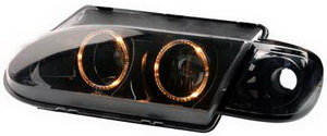 Фара блок ВАЗ-2113-15 PRO SPORT ANGEL EYES, 2 RS-01697, 2114-3711010