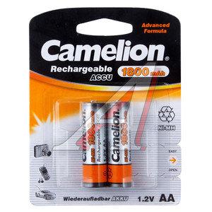 Батарейка AA 1.2V аккумулятор Ni-MH 1800mAh (по 1шт.) CAMELION C-180AAKCбл