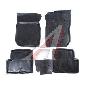 Коврик салона RENAULT Duster 4AWD резина черный (4 предм.) ДВА КОЛЕСА ADRJET022 (55-01-101), Два Колеса