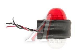 Фонарь габаритный красно-белый (светодиод, Е-102, 24V) АВТОТОРГ АТ-1102/LED
