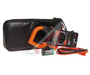 Тестер-токовые клещи 230х90х37мм, 7 сегментов диспл. DT266 (40-500Гц,1000А,750В)