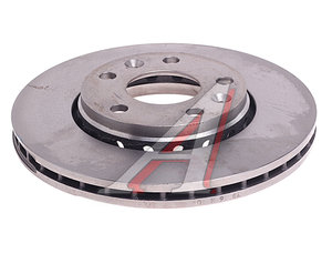 Диск тормозной RENAULT Duster (11-) передний (280х24) (1шт.) BREMBO 09.A727.14, DF6072, 402060010R
