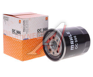 Фильтр масляный FIAT FORD MAHLE OC986, 46544820