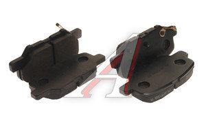 Колодки тормозные MITSUBISHI Outlander задние (4шт.) OE 4605A998, GDB3583, 4605A802