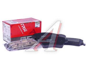 Колодки тормозные SUZUKI Swift (05-) передние (4шт.) TRW GDB3396, 55810-62J00/55810-62J20