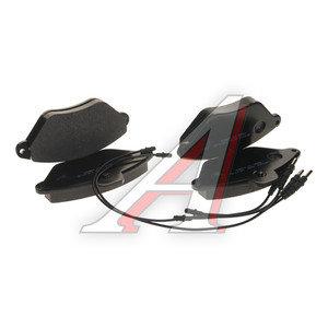 Колодки тормозные CITROEN Xantia передние (4шт.) HSB HP5100, GDB1102, 425113