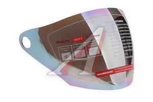 Визор мото для шлема радужный MICHIRU MO 110 MO 110, 4620770793443