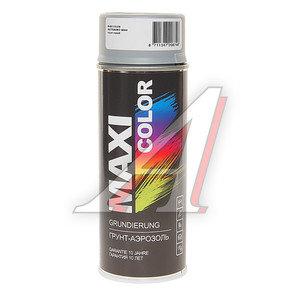 Грунт серый аэрозоль 0.4л MAXI COLOR MAXI COLOR 1, 0001MX
