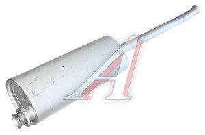 Глушитель ГАЗ-330202 c дв.CUMMINS удлиненная база Баксан 330202-1201008-40
