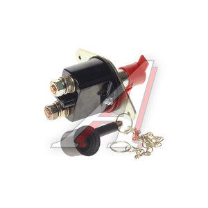 Выключатель массы MAN DAF SCANIA VOLVO с ключом (контакты поперек) DIESEL TECHNIC 226150, 336010