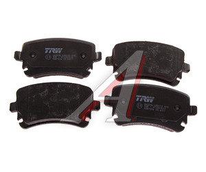 Колодки тормозные AUDI A4,A6 (05-),A8 (03-) задние (4шт.) TRW GDB1516, 8E0698451C/4F0698451/4B3698451