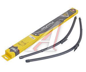 Щетка стеклоочистителя MERCEDES Viano (03-) 700/650мм комплект Visioflex SWF 119398, 0018203045