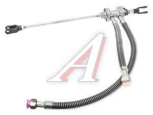 Клапан МАЗ включения привода сцепления со шлангами 500мм БААЗ 5551-1602738.10