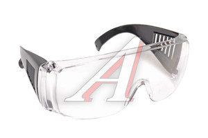 Очки защитные поликарбонатные прозрачные линзы FIT FIT-12219, 12219