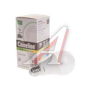 Лампа светодиодная E27 A60 11W (80W) теплый CAMELION Camelion LED11-A60/830/E27, 12035