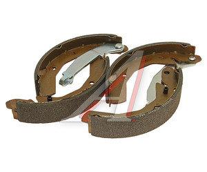Колодки тормозные DAEWOO Matiz (98-) CHEVROLET Spark (05-) задние барабанные LUKAS (4шт.) FENOX BP53024, GS8645, 96268686
