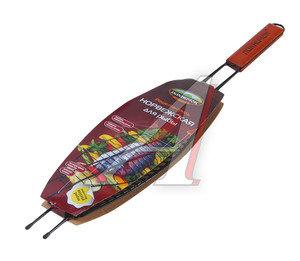 Решетка-гриль ПИКНИЧОК Норвежская рыбная антипригарная 401-021,