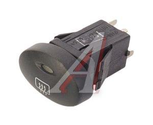 Выключатель кнопка ВАЗ-1118 обогрева стекла заднего АВАР 991.3710-07.04, 991.3710-07.20