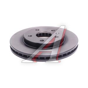 Диск тормозной OPEL Insignia (08-) SAAB 9-5 (10-) (R16) передний (1шт.) TRW DF4995S, 0569421/0569063/13502213