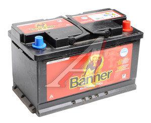 Аккумулятор BANNER Running Bull 80А/ч обратная полярность, гелевый 6СТ80 58001