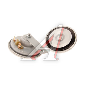 Сигнал звуковой 12V 400/335Hz 125дБ d=96мм дисковый 2 тона, серый комплект 2шт. AUTOSTANDART 104601