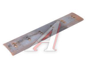 Нож ДТ-75 на отвал (профильный) 12-отверстий комплект 3шт. сталь 65Г (пружинная) 840х12х180 (035)