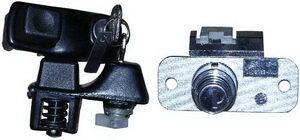 Ручки двери и замок багажника ВАЗ-1111 комплект ДААЗ 1111-6100040-10, 11110610004010, 1111-6100040