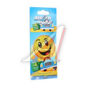 Ароматизатор подвесной пластина (свежий воздух) Smile AREON ASD15