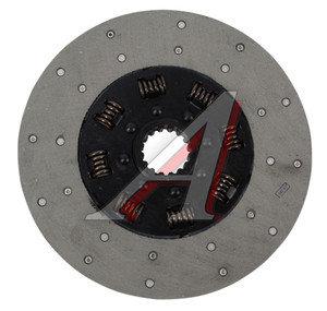 Диск сцепления СМД-18,20,22 ведомый с пружинами (16-шлицов) ЧКЗЧ А52.21.000СБ,