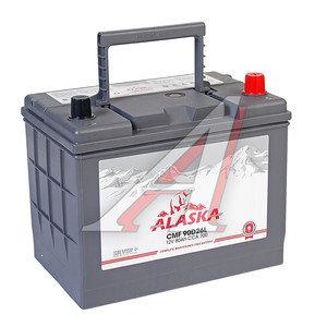 Аккумулятор ALASKA CMF silver+ 80А/ч обратная полярность 6СТ80 90D26L, 90D26L
